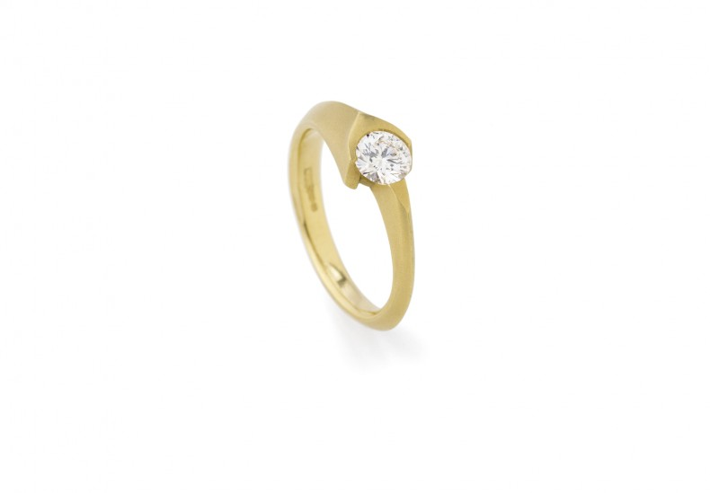 Eros Solitaire Ring