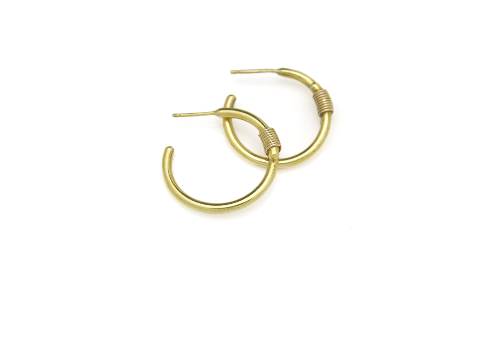 Bound Small Hoop Earrings