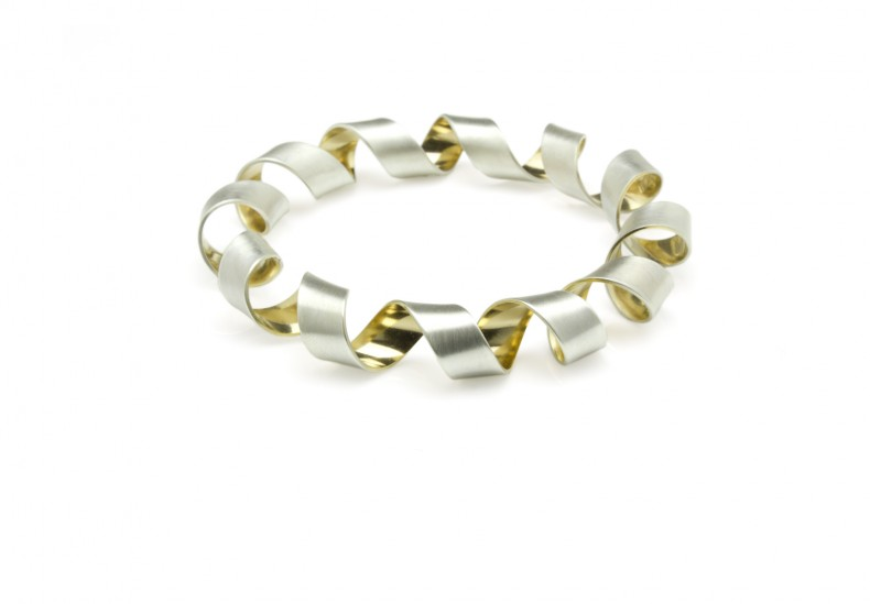 Coil Heavy Bangle