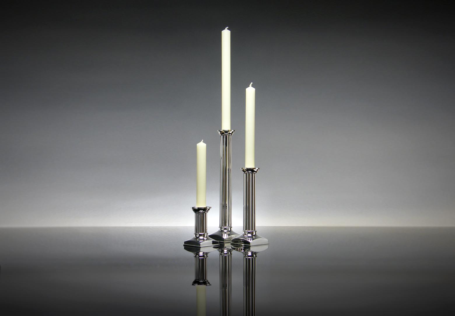 Fluted Candlesticks