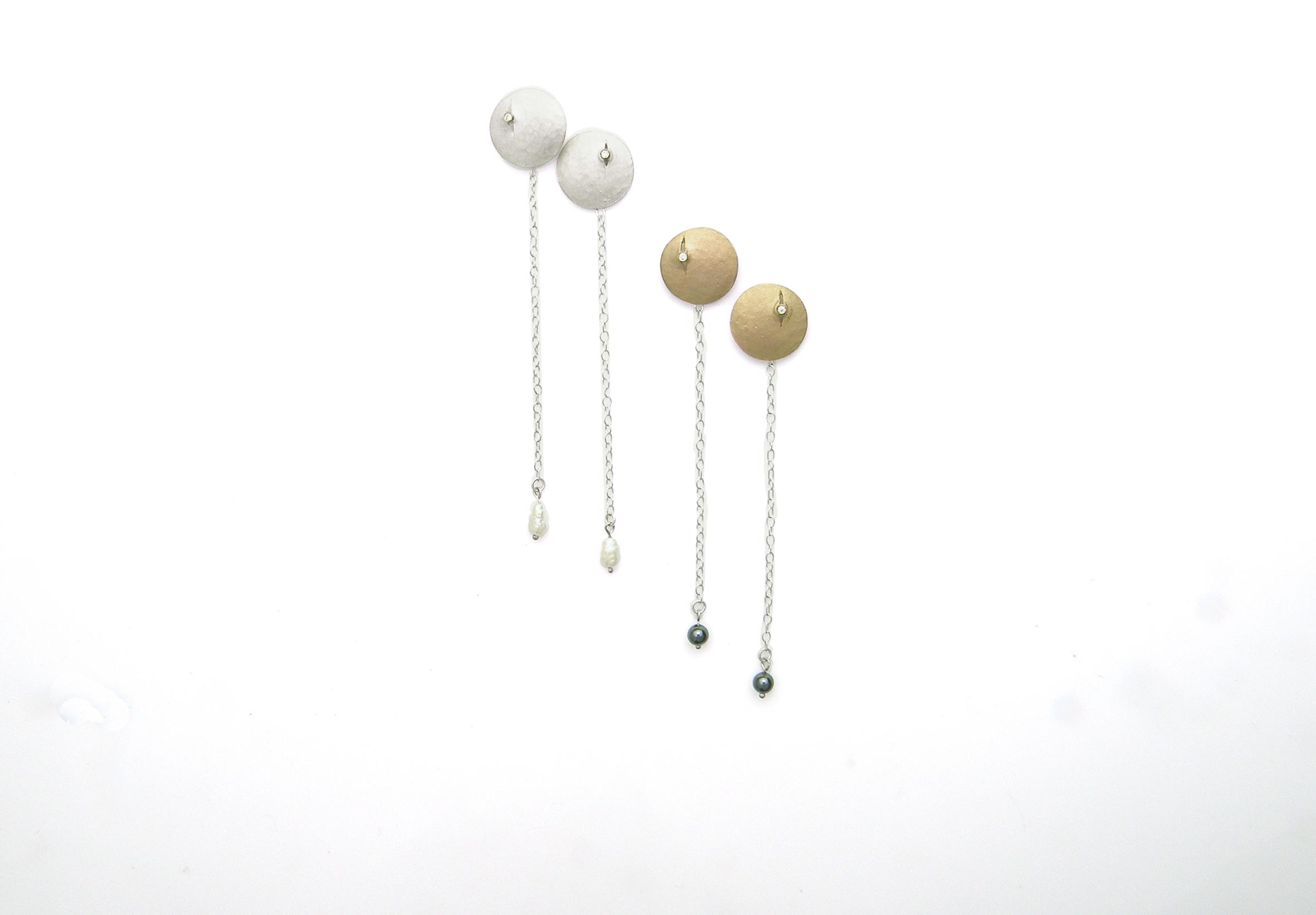 Luna Drop Earrings – large